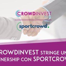 CrowdInvest Italia stringe una Partnership con Sportcrowd per realizzare Campagne di Equity Crowdfunding Donation e Reward in ambito sportivo