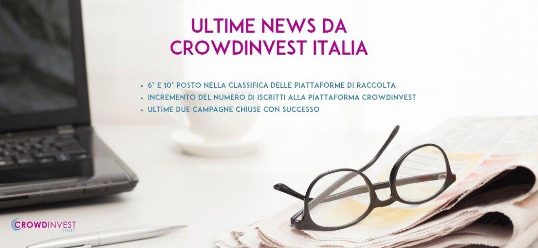 Ultimi aggiornamenti di CrowdInvest Italia
