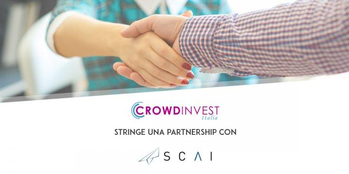 Nuova partnership CrowdInvest Italia: SCAI Comunicazione
