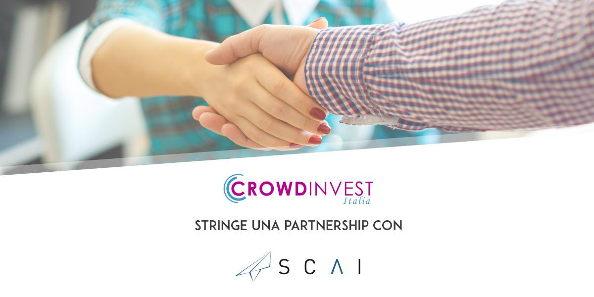 Nuova Partnership di CrowdInvest Italia con SCAI Comunicazione