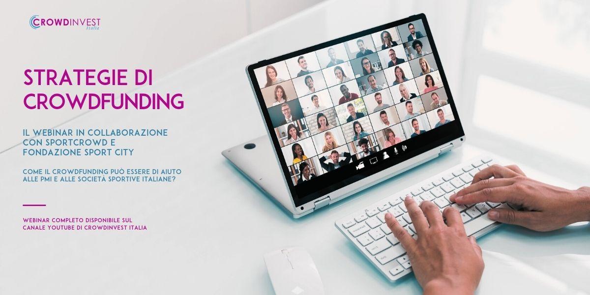 Webinar Strategie di Crowdfunding